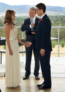 Wedding at Macedon Wine Room