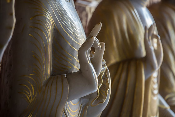 Classic white marble statuette of Goddes