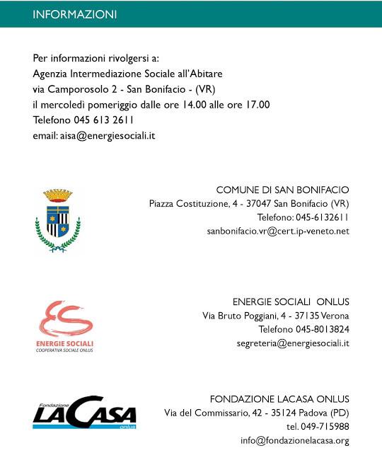 Marconi Assicurazioni San Bonifacio in collaborazione con Agenzia Intermediazione Sociale all'abitare