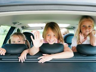 10 consigli contro il mal d'auto nei bambini