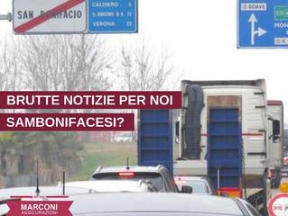 BRUTTE NOTIZIE PER I TUTTI NOI DI SAN BONIFACIO...