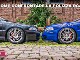COME CONFRONTARE LA POLIZZA RCA