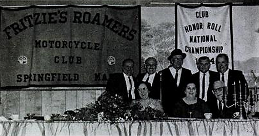 1966 Reunion Banquet of Fritzie's Roamers celbrating 33 years.