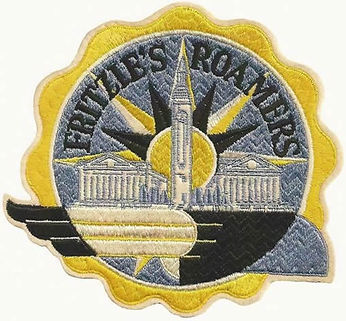 The original Fritzie's Roamers patch, designed by Don Creese