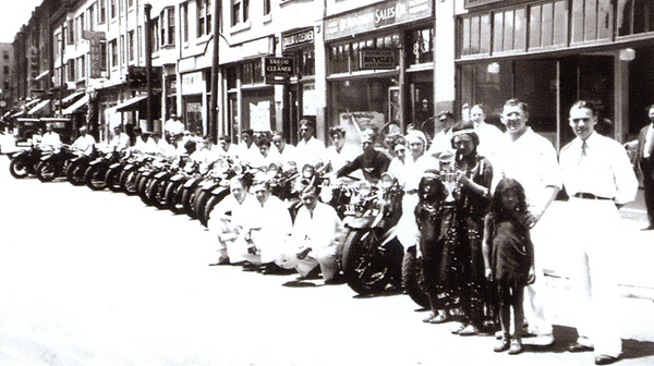 1934 July 4th parade in Springfield, MA