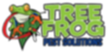 treefrog - horizontal black background F