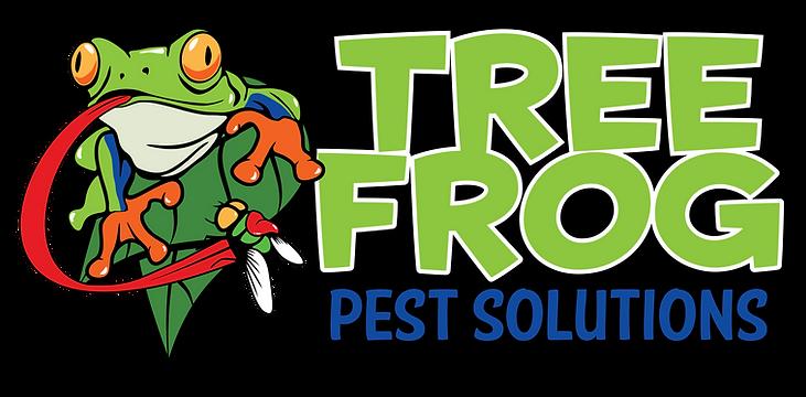 treefrog - horizontal black background F