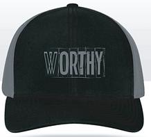 """Worthy"" Unisex Snapback Cap"