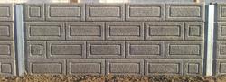 Textured Concrete Retaining