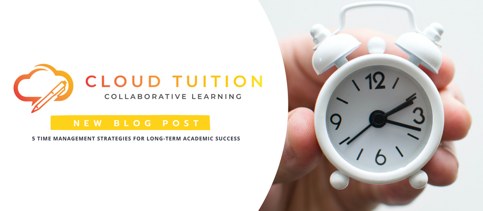 5 Time Management Strategies for Long-Term Academic Success