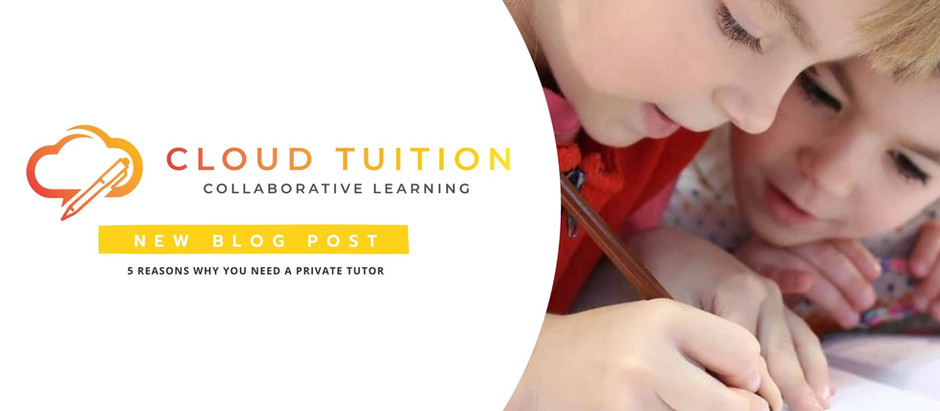 5 Reasons Why You Need A Private Tutor