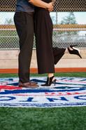 A Baseball themed engagement