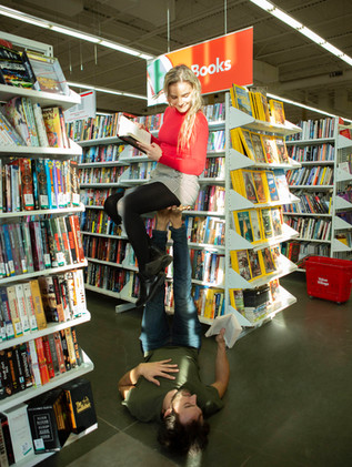 Acroyoga at Value Village