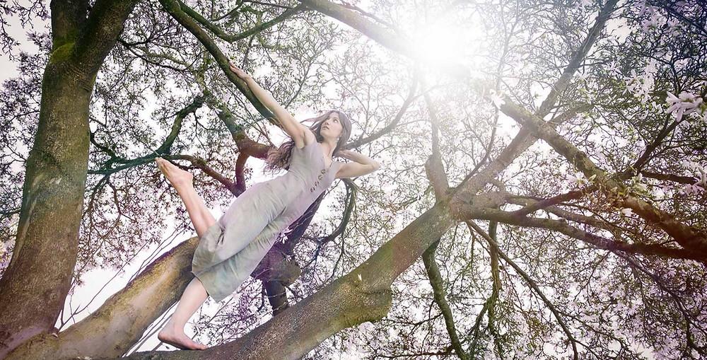 Dancer Cherry Blossom Photography