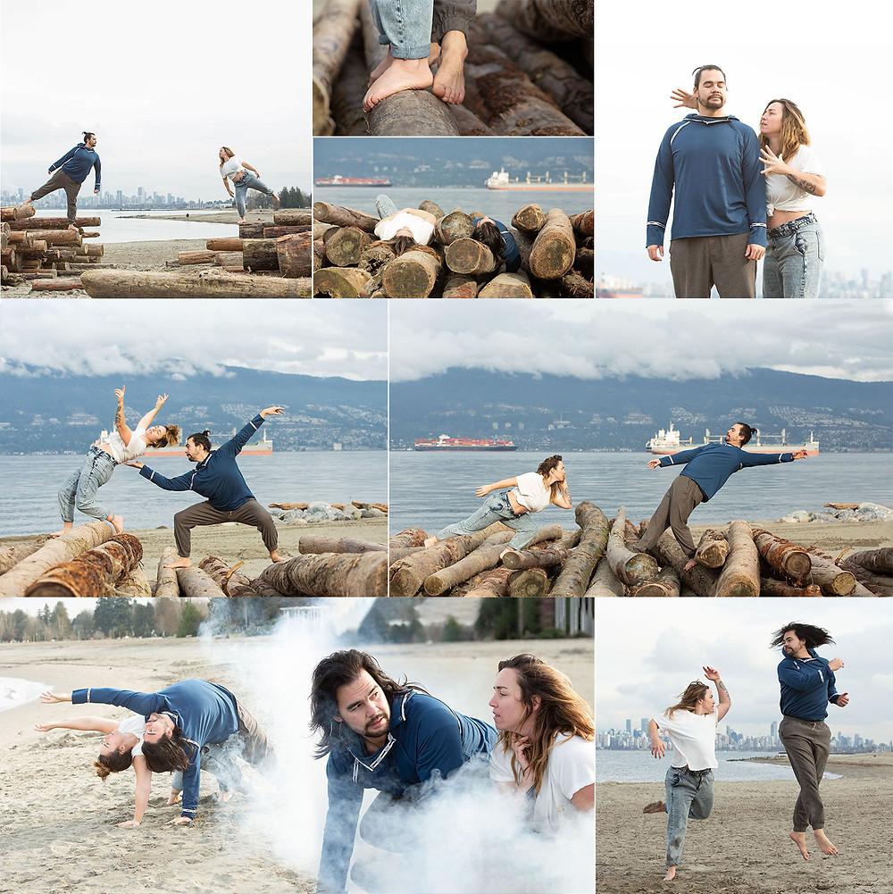Acroyoga Duo Photoshoot
