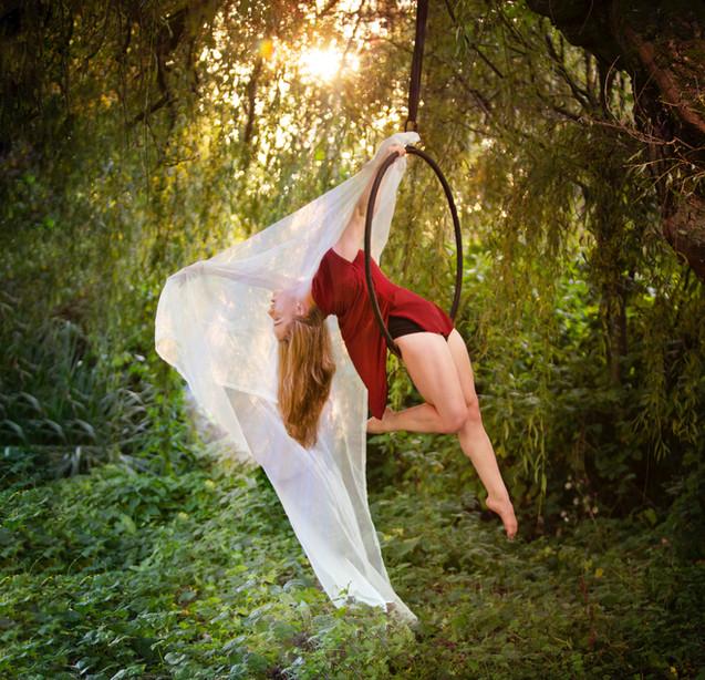 Hoop Aerials - Nicole