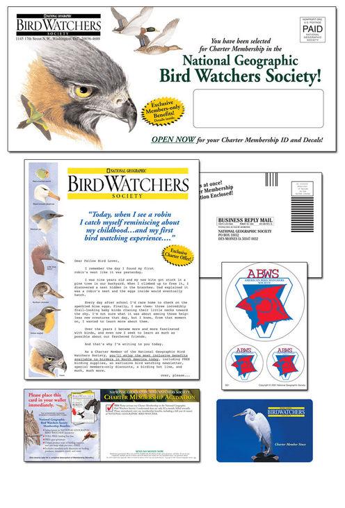 National Geographic Birdwatcher Club