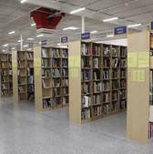 Winston-Salem book aisles, 2019