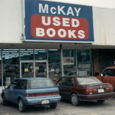 McKay's Knoxville book store, early 90s
