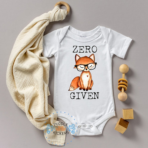 Zero Fox Given Onesie® | Cute Baby Shower Gift | Hipster Boho Baby | Boy or Girl