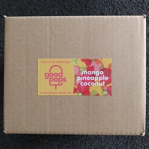 mango pineapple coconut goodpops box of 24