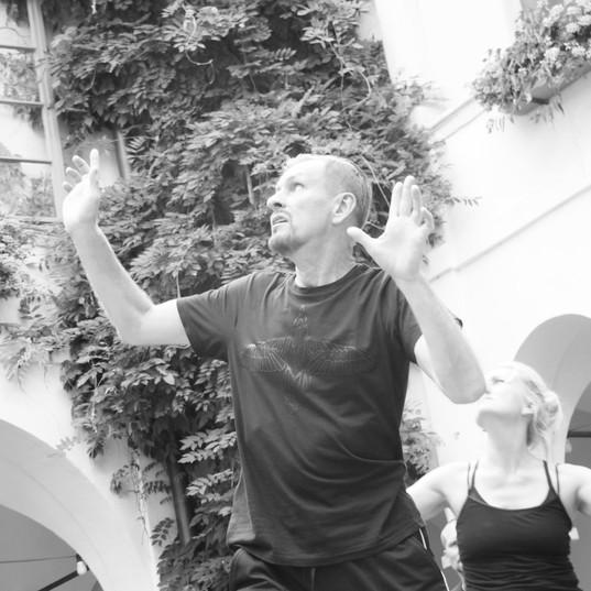G.Ostrenko's Open-Air Performance in Austria