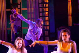 """""""Lullaby for Hamlet"""" Performance projects under artistic guidance of Sergei Ostrenko"""