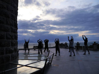 Ostrenko Brothers Physical Theatre Workshop in Tuscany, Italy 2