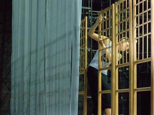"Rehearsals of ""Romeo and Juliet"" under direction of Sergei Ostrenko"