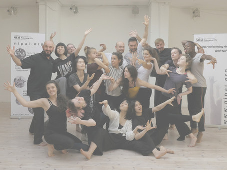 Recap of NIPAI workshop in Berlin (July 2019). Physicality in Acting
