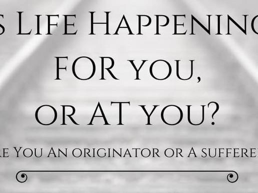 Originator or Sufferer?