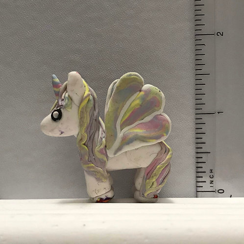 Pegacorn | Pastel Rainbow, Large Gold, Small Gold