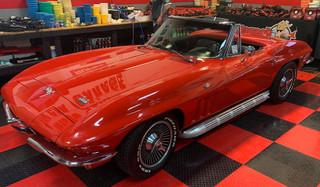 60's Corvette convertible