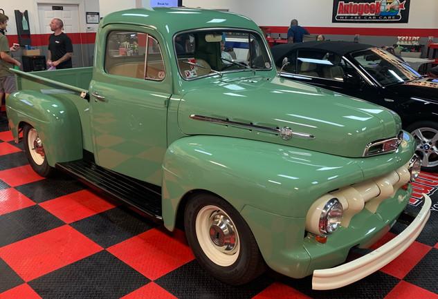 Ford pickup restoration