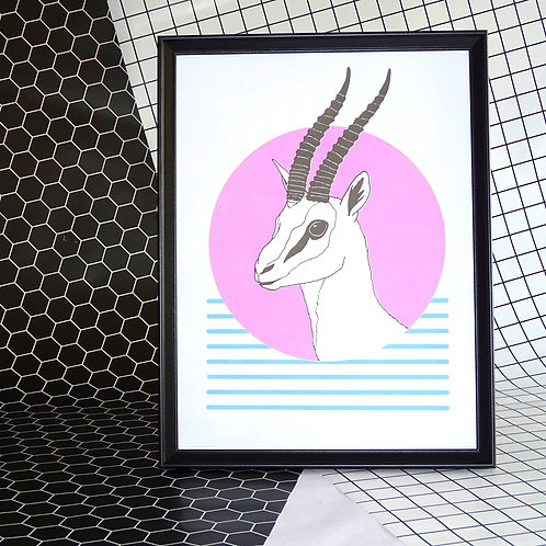 Left Facing Gazelle
