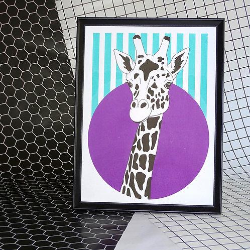 Forward Facing Giraffe