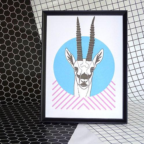 Forward Facing Gazelle