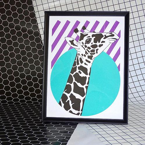 Right Facing Giraffe