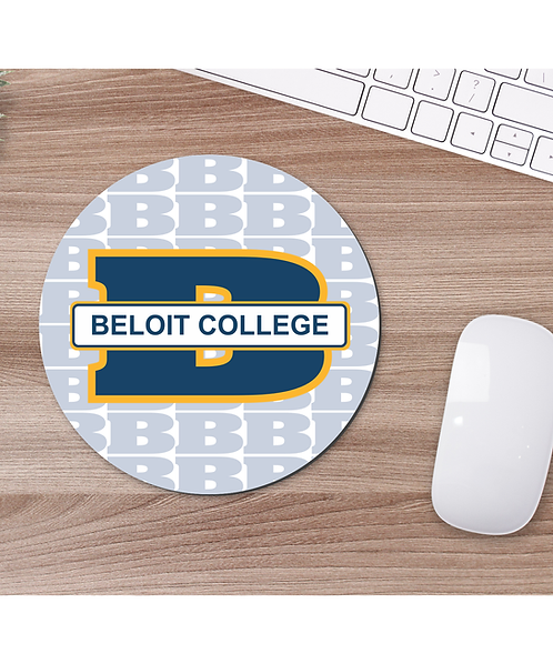 """Beloit College 7 1/2"""" Round Mouse Pad"""