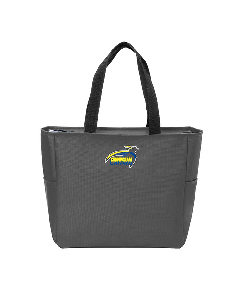Cunningham Cavaliers Embroidered Essential Zip Tote