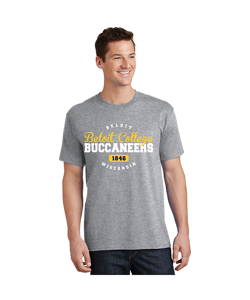 """College Store """"Beloit College Buccaneers"""" Tee"""