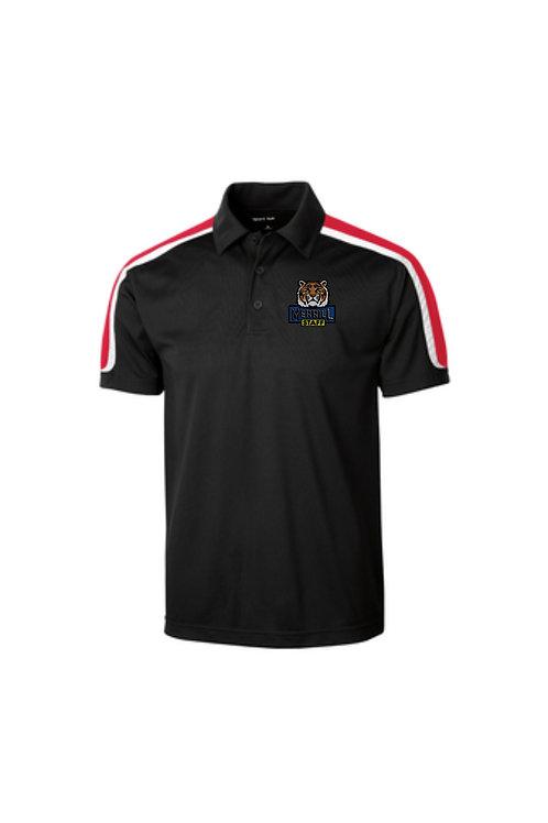 Embroidered Merrill Staff Tricolor Shoulder Micropique Sport-Wick Polo
