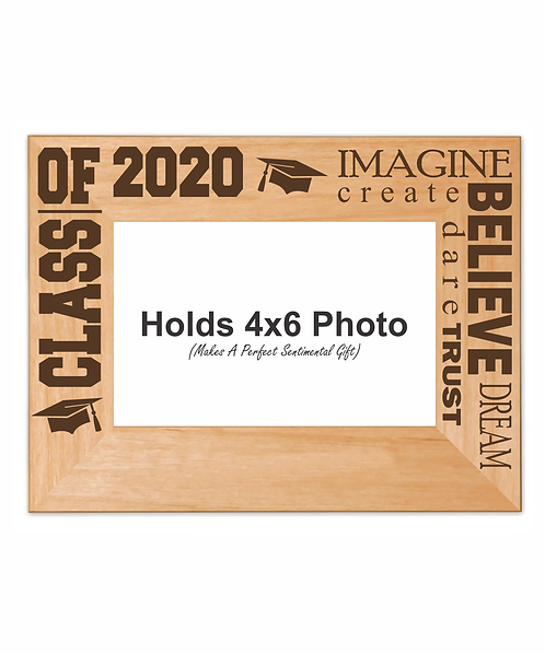 "Class of 2020 Words of Encouragement 4"" x 6"" Picture Frame"