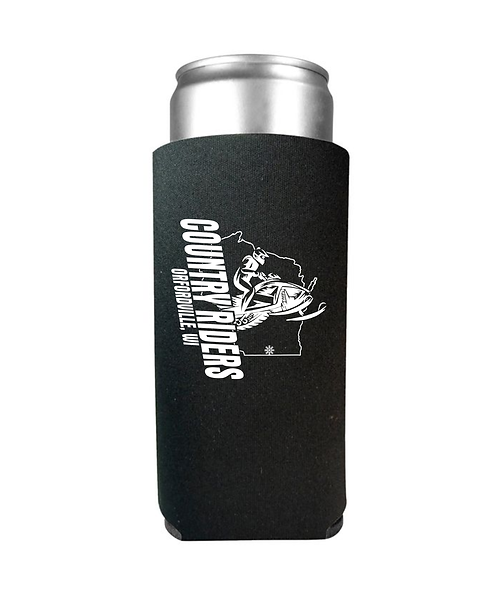 Country Riders Slim Can Koozie
