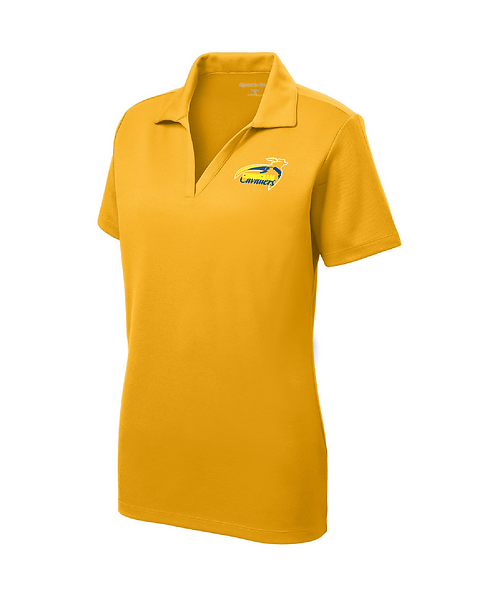 Cunningham Cavaliers Embroidered Ladies RacerMesh Polo