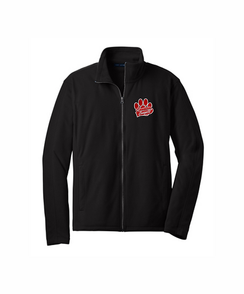 Converse Cougars Embroidered Men's Microfleece Jacket