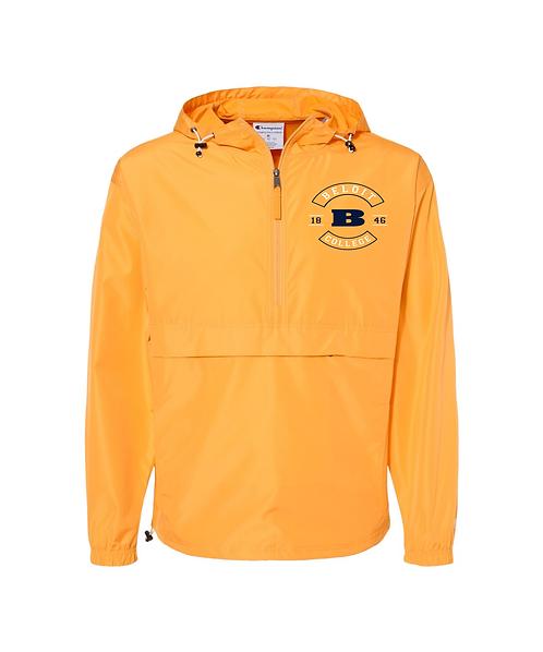 Beloit College Gold Champion - Packable Quarter-Zip Jacket