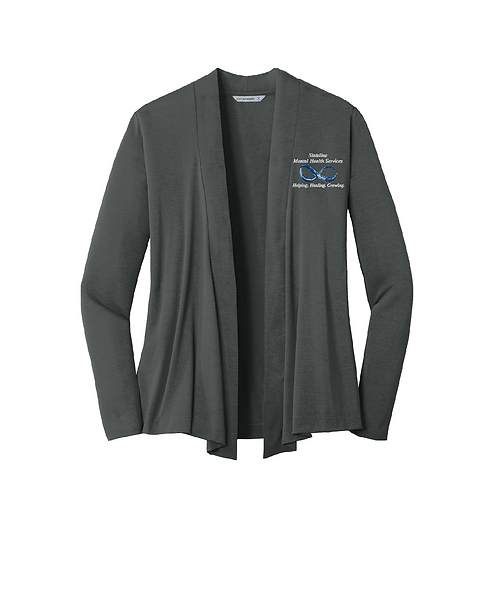 Stateline Mental Health Ladies Concept Open Cardigan