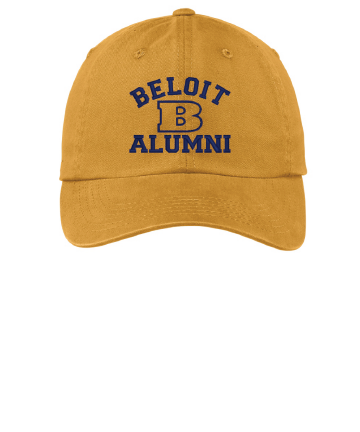 Beloit College Embroidered Beloit Alumni Port Authority® Garment Washed Cap