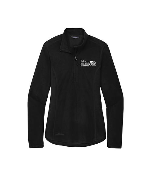 Beloit Meals on Wheels Embroidered Eddie Bauer® Ladies 1/2-Zip Jacket